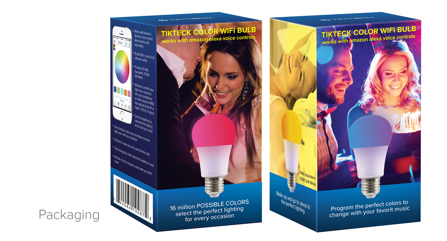 Smart bulb packaging