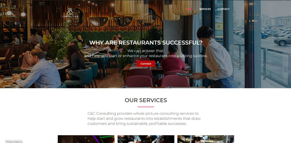 Built website and wrote all text