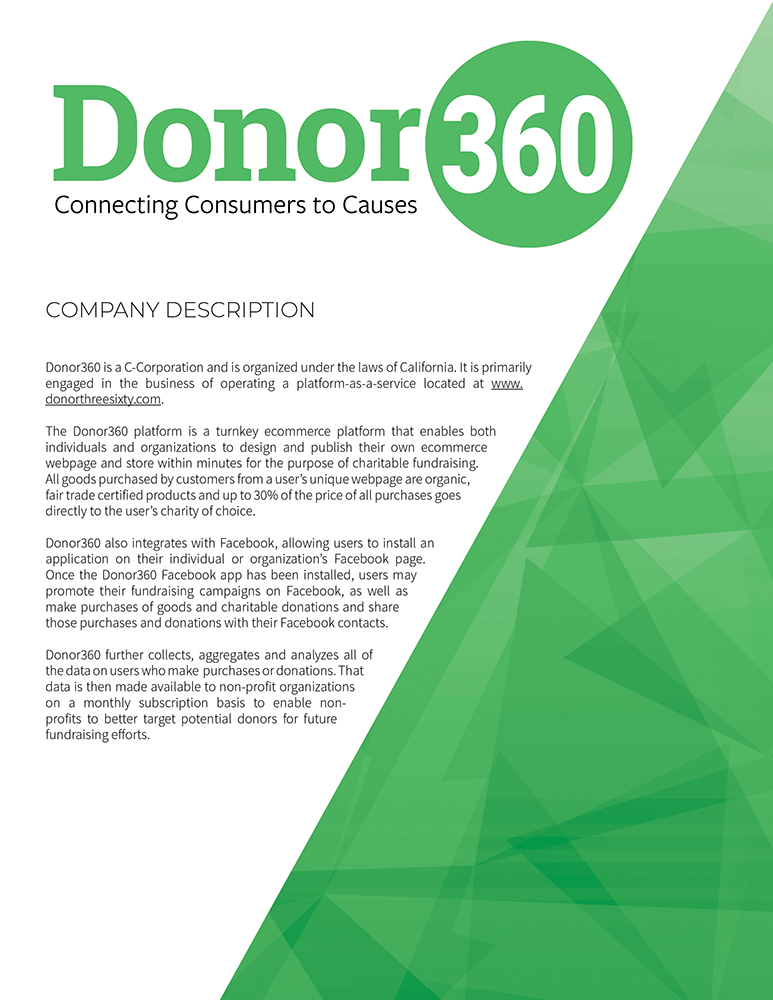 Donor360_Valuation Report2