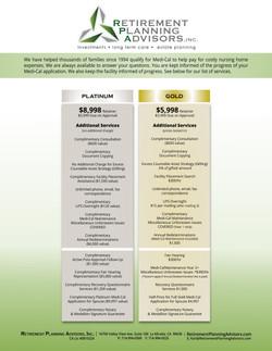 menu-platinum and gold