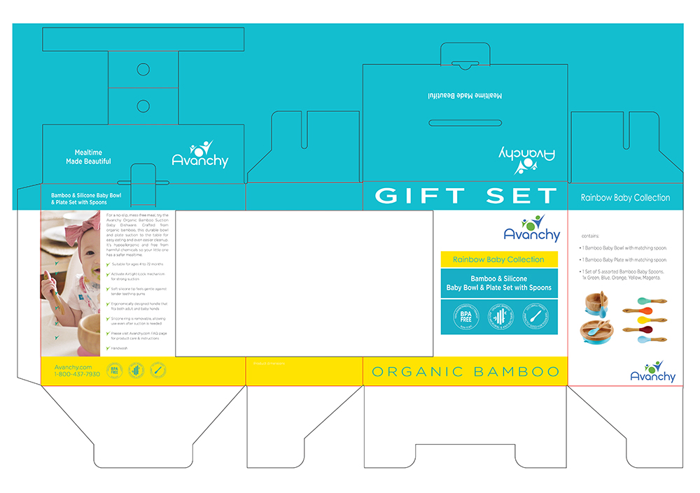 Gift set packaging