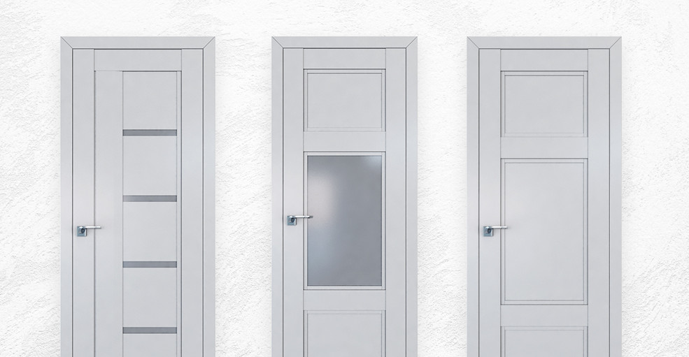 Двери серии U цвета «Манхэттен»