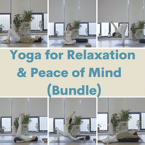 Yoga for Relaxation & Peace of Mind (Bundle)