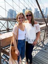 Amanda and Kelley, MOH, Brooklyn Bridge