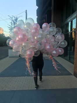 Balloons for the loft decorations