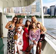 Boat tour of Manhatten