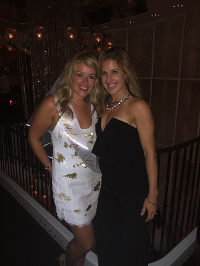 Amanda and Liz