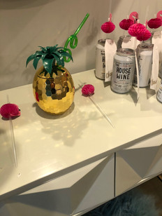 Pineapple cup for the bride