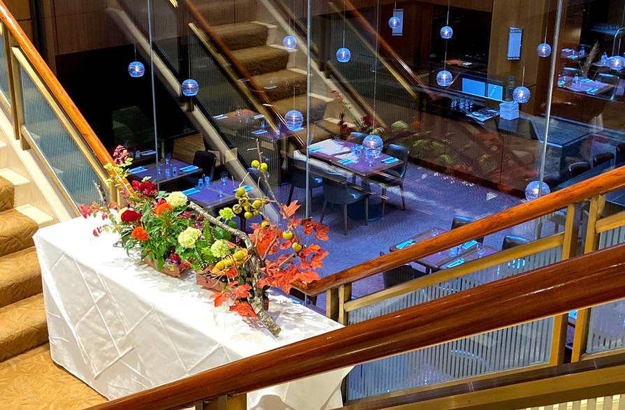Exhibit at the Kitano Hotel