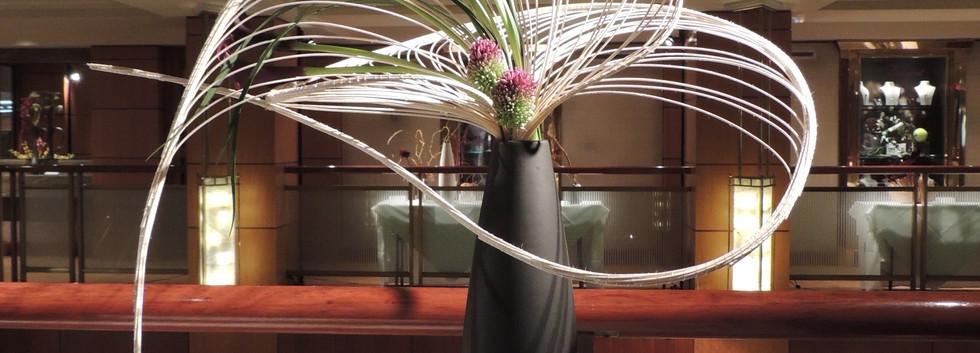 Exhibit at Kitano Hotel