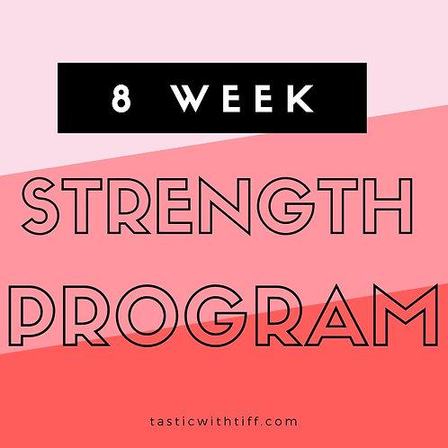 8 Week Strength Program