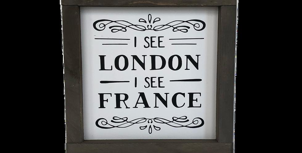I see London I see France