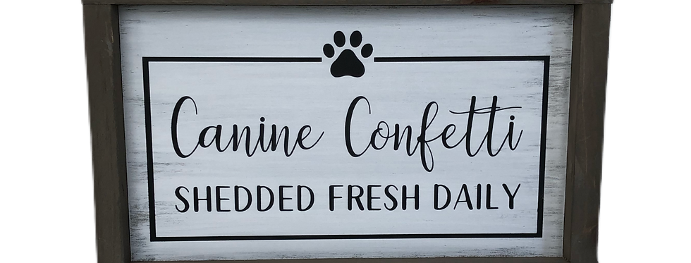 Canine Confetti