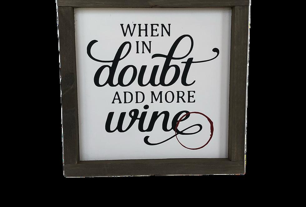 Add More Wine