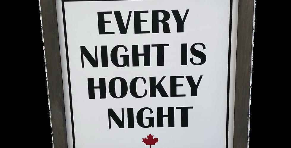 Every Night is Hockey Night