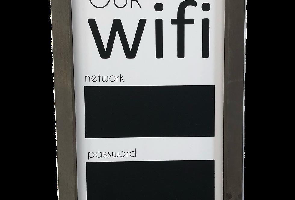 WIFI Chalkboard
