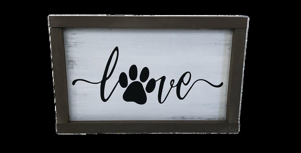 Love paw