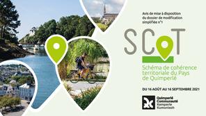 Du 16/08 au 16/09 2021 : mise à disposition du public de la modification simplifiée n°1 du SCoT