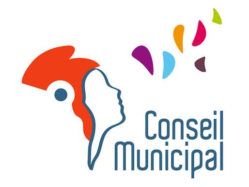 Séance de conseil municipal