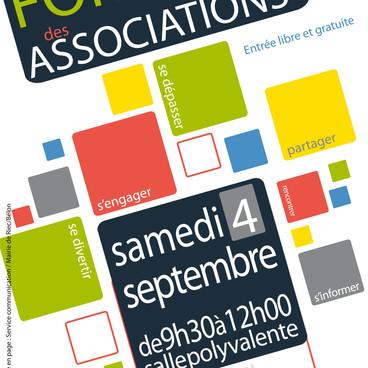 Forum des associations - Samedi 4 septembre