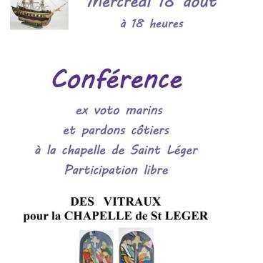 Conférence chapelle St Léger