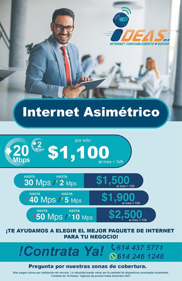 internet ideas mexico asimetrico empresa