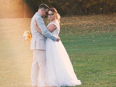 Dreamy October Wedding