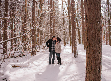 Love and Snow Couple Sess.