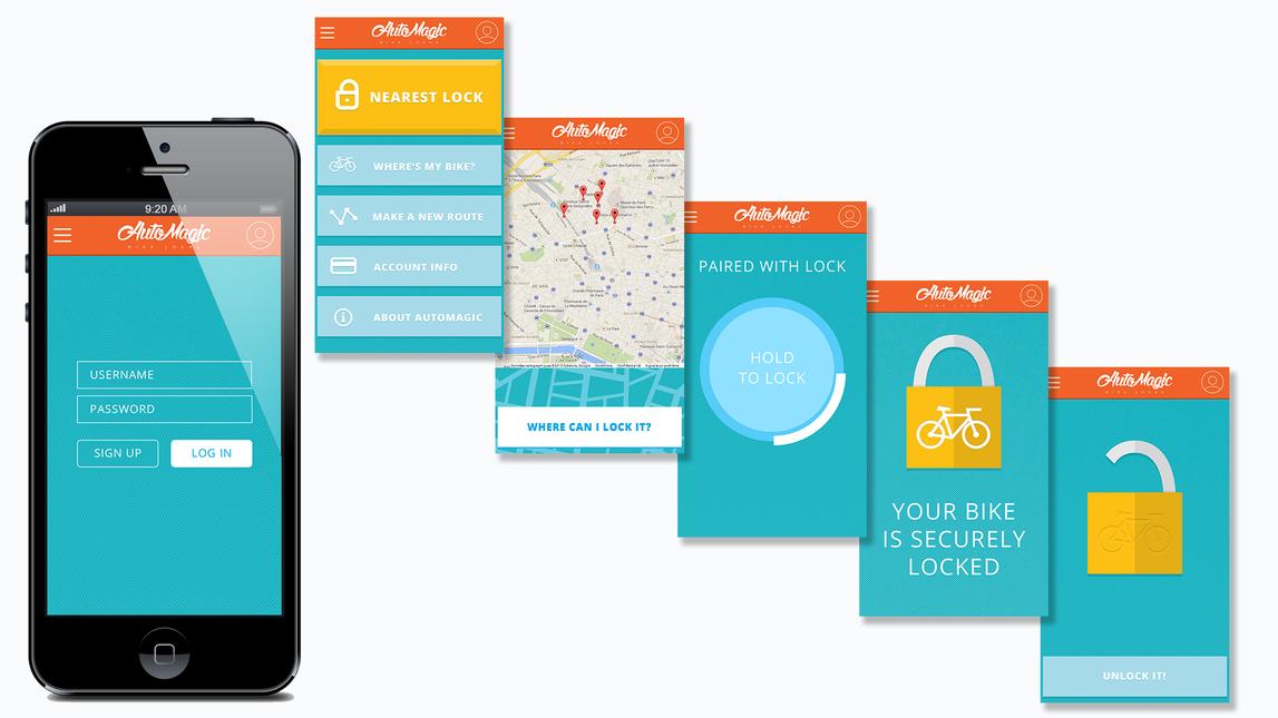 AutoMagic Lock - Mobile App