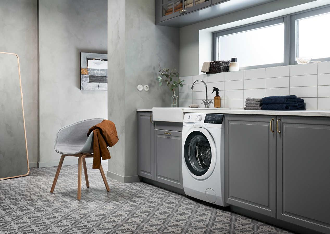 Electrolux Washing machine compositing