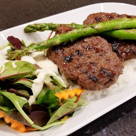 Galbi Rice Plate