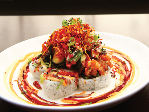 Spicy Bomb Roll