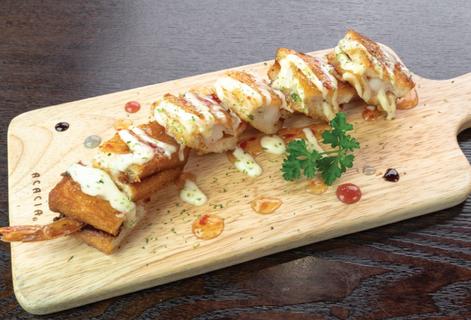 Deep-fried Shrimp Toasts