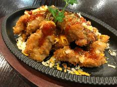 Spicy Chicken with Mozzarella Cheese