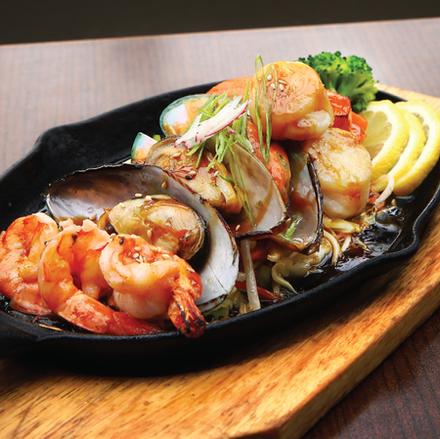Seafood-Teriyaki