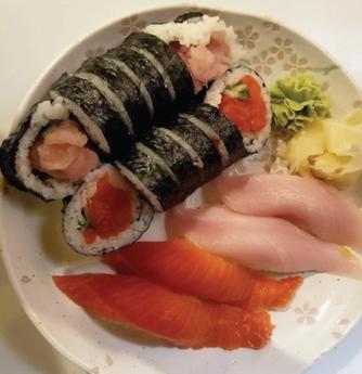 Tuna Salmon Combo