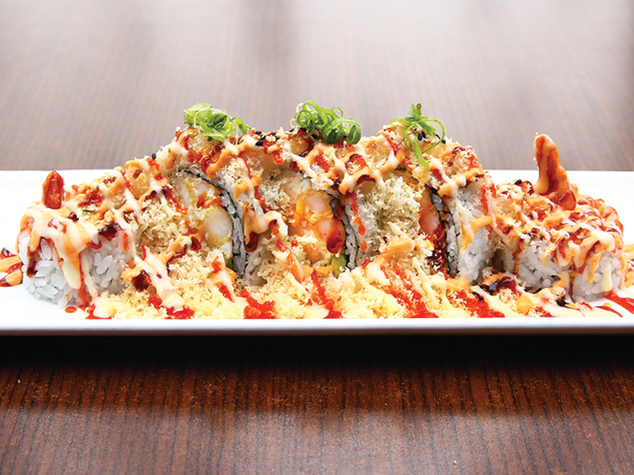 Crispy & Crunch Roll