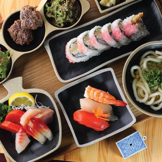 Sashimi Sushi Platter