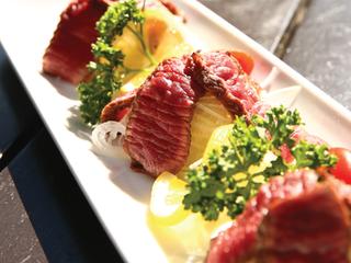 Beef Tataki with Ama Ponzu Sauce