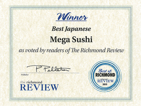 Winner of the Richmond Review
