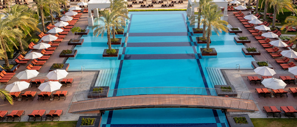 Jumeirah Zabeel Saray - Exterior - Pool