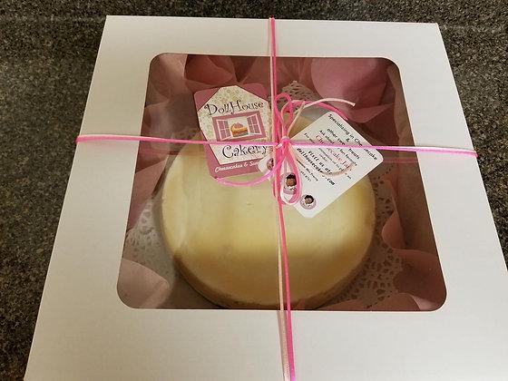 Baked 8 inch Cheesecake - Medium
