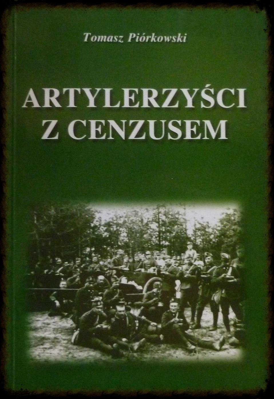 Okładka ksiązki T. Piórkowskiego