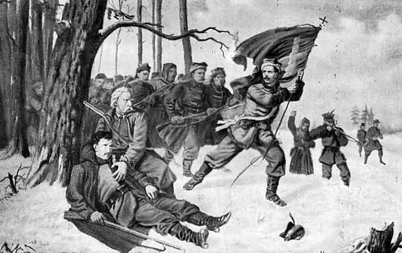 Lewandowski na Podlasiu 1863 r.
