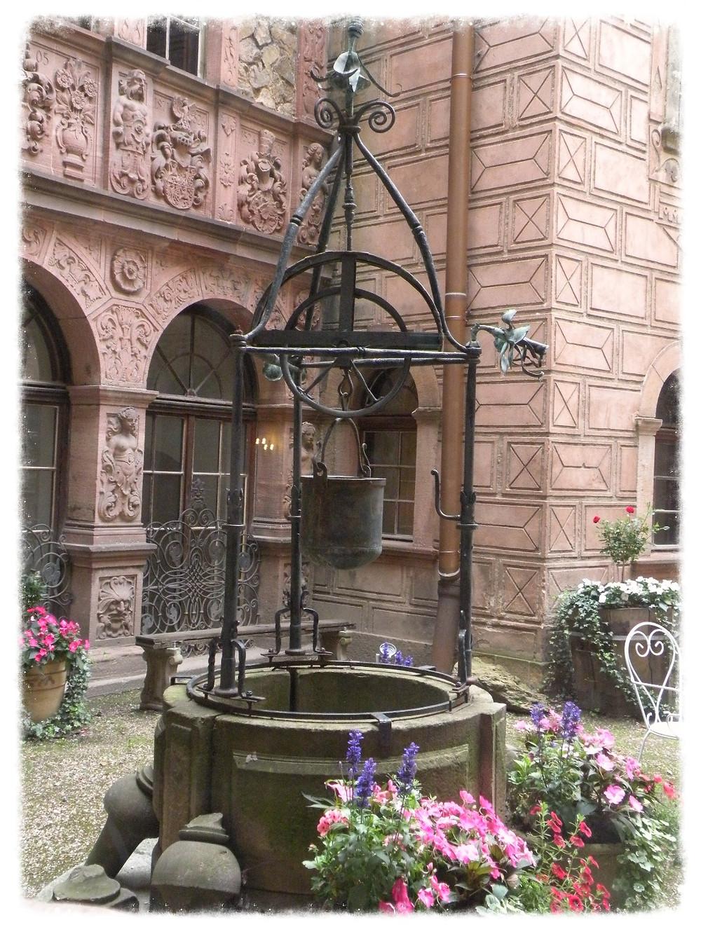 Najstarsza część zamku Książ