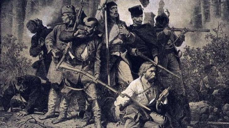 1863r. powstanie Skłody Czyżew