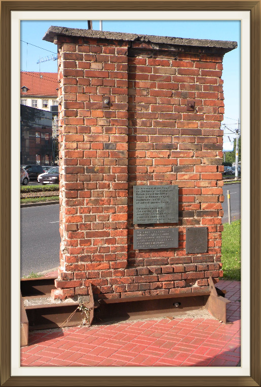 Fragment muru w Gdańsku