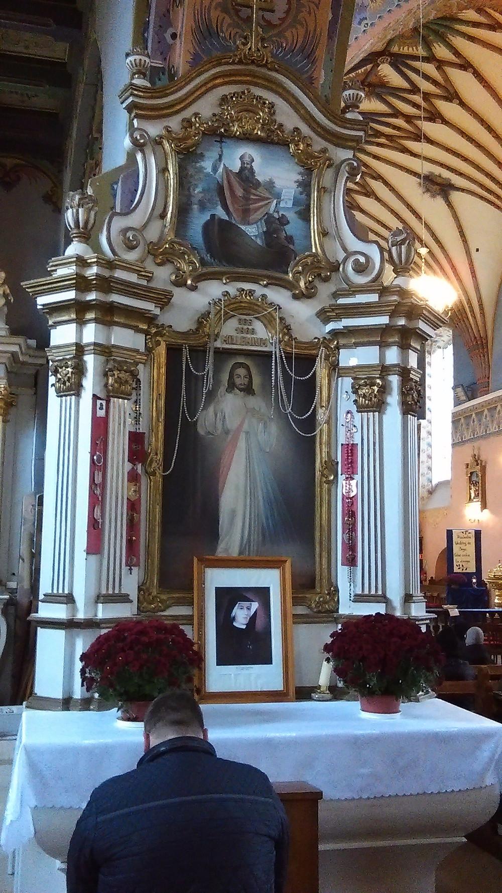 Ołtarz w Andrzejewie