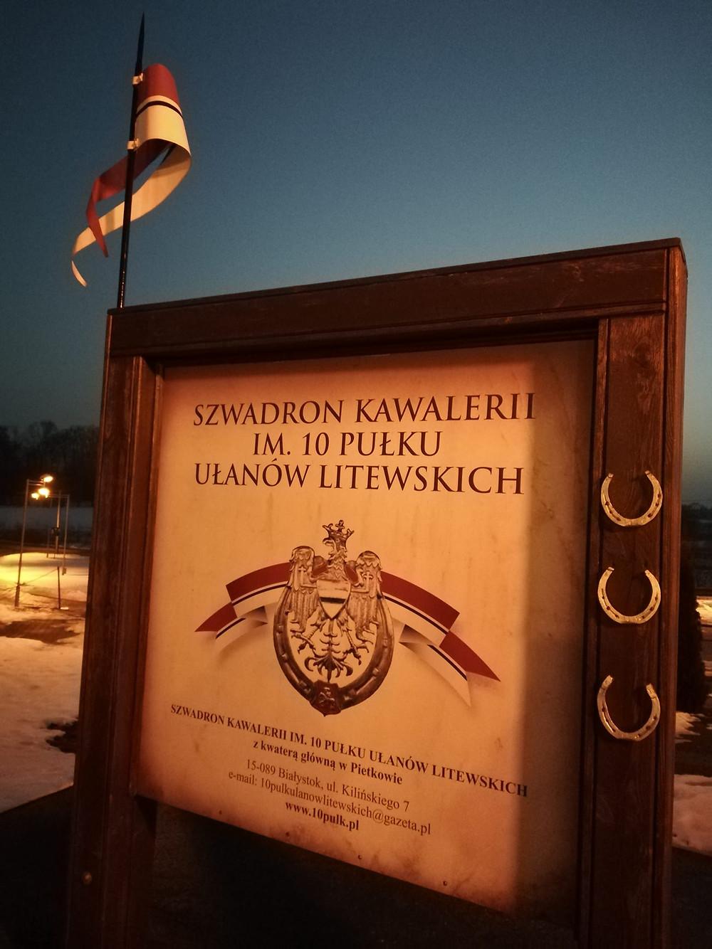 Pietkowo, 10 Pułk Ułanów, Andrzejewo, Czyżew
