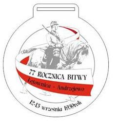 Medal za uczestnictwo w biegu.
